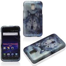 For Samsung Galaxy S 2 II Skyrocket i727 Husky Wolf Plane Case Hard Cover