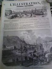 L'illustration n°616 16 déc 1854 uniforme gardien de paris expédition crimée