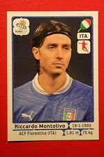 Panini EURO 2012 N. 328 ITALIA MONTOLIVO NEW With BLACK BACK TOPMINT!!