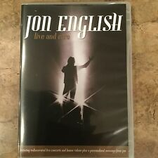 JON ENGLISH LIVE AND RARE DVD ALL REGIONS PAL NEW