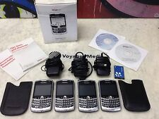 4 BlackBerry Curve 8330 - Silver (Verizon) Smartphone LOT cellphone