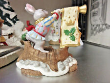 """Fitz & Floyd """"ENCHANTED FOREST COLLECTION HOLIDAY HAMLET - CASTLE HERALD LE NIB"""
