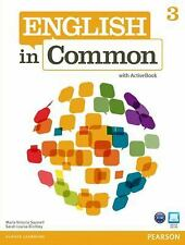 English in Common 3 with ActiveBook, Birchley, Sarah Louisa, Saumell, Maria Vict