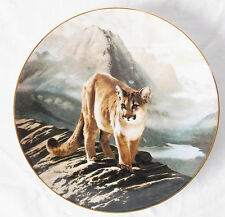 """The Cougar"" -1991-by Charles Frace-Limited Plate #18494A-Magnficent Cats"
