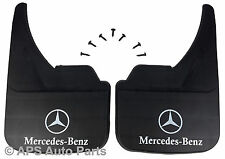 Universal Car Mudflaps Front Rear Mercedes Logo E Class Front Mud Flap Guard
