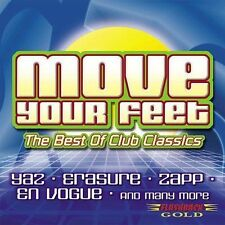 Move Your Feet: The Best of Club Classics (CD, Jul-2002, Flashback Gold)