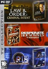 Serie Tv Collection - Law & Order - Desperate Housewives - Ris PC DVD-Rom