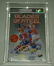 1988 KONAMI BLADES OF STEEL Nintendo NES Snes n64 Factory Sealed new VGA 80