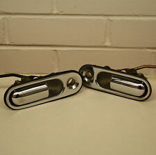 Mazda MX5 - Mk1 - NA - 89-97 - CHROME EXTERIOR DOOR HANDLES - pair