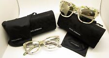 SET of 2 Women Dolce&Gabbana DG4231 Sunglasses DG3203 Eyeglasses Italy BE17/21