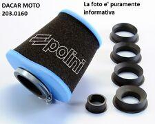203.0160 FILTRO ARIA EVOLUTION CONICO POLINI F.MORINI FANTIC MOTOR
