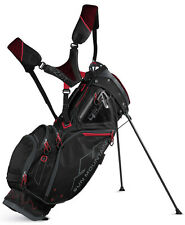 Sun Mountain Four 5 LS Golf Stand Bag 2017 Black/Gunmetal/Red 14-Way Top New