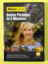 Nikon School - Better Pictures in 5 Minutes ~ New DVD ~ Digital SLR Camera Tips