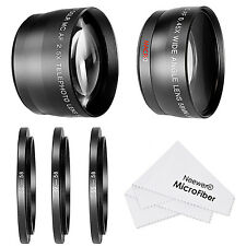 Neewer 58MM 0.45X Wide Angle Lens and 2.5X Telephoto Lens Kit UD#20