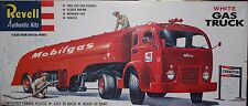 Revell Authentic Kit White Gas Truck Model Kit