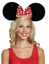 DISNEY LICENSED MINNIE MOUSE OVERSIZED EARS HEADBAND COSTUME ACCESSORY DG95775