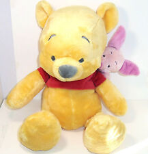 Disney Winnie the Pooh and Piglet Plush Toy Stuffed Animal for Baby Theme Parks