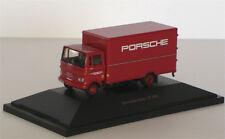 """Mercedes-Benz LP 608 box van """"Porsche"""" - 1:87 / H0 Gauge - Schuco (22370)"""