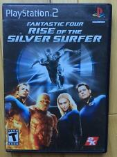 Fantastic Four Rise of The SIlver Surfer Playstation 2  PS2  *TESTED WORKING*