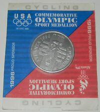 1996 Commemorative Olympic Sport Medallion ~ USA Cycling
