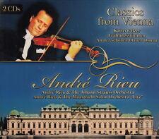André Rieu / Classics from Vienna  --Doppel-CD--- (NEU!)