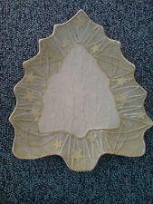Weihnachten Rattan Dekoschale in Form eines Tannenbaums