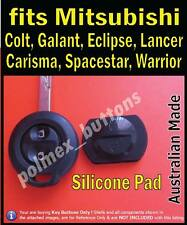 fits Mitsubishi Colt, Eclipse, Lancer remote key fob - REPAIR Silicone Buttons