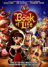 Book of Life DVD, Christina Applegate, Ron Perlman, Diego Luna, Channing Tatum,