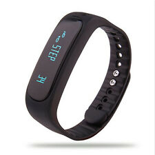 E02 Smart Health WristBand Fitness Tracker For all android Phones and IOS