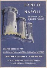 C954) BANCO DI NAPOLI, IL MASCHIO ANGIOINO. VIAGGIATA DA TRIPOLI.