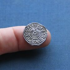Hammered Silver Saxon / Viking Coin Cnut Penny c 1016 AD