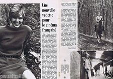 Coupure de presse Clipping 1981 Ariane Lartéguy  (2 pages)