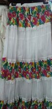 """New ladies womens floral summer long skirt cotton100% maxi 40""""lenght free size"""