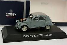 Norev 1/43 - Citroen 2CV 4X4 Sahara 1961