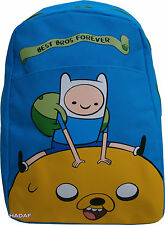 Adventure Time Backpack Jake the Dog with Finn the Human Blue New Boys Kids