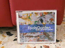 FOOLS GARDEN - DOES ANYBODY KNOWN' - WELCOME SUN - cd singolo slim case PROMO