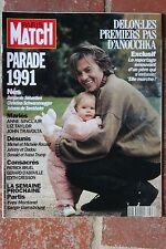 Paris Match 2223 Delon Mariés Désunis Consacrés 1991 Fin de l'URSS