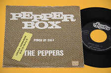 "THE PEPPERS 7"" 45 PEPPER BOX 1°ST ORIG ITALY 1973 EX"