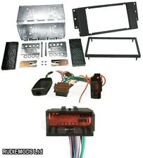Range Rover Sport 05 on Car Stereo Double Din Kit and Stalk Adaptor