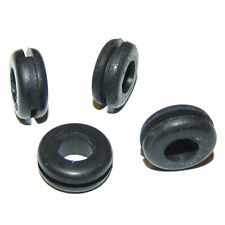 """DIY Mason Jar Sipper Sippy Cup Black Rubber Grommets 1/4"""" x 3/8"""" - Lot of 4"""
