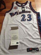 Michael Jordan UDA Upper Deck Career Tribute Patch Signed Autographed Jersey 123