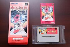 Super Famicom SFC KiKi KaiKai Nazo no Kuro Manto boxed japan game US Seller