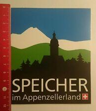 Aufkleber/Sticker: Speicher im Appenzellerland (12081638)
