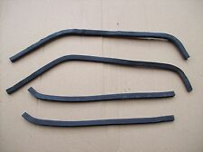 Porsche 968 & 944 S2 Cabriolet - Covertible Door Jam Seals - Left & Right