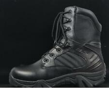 Men's Desert Military Combat High Top Lace Up Tactical Zip Ankle Boots Sz UK6-10