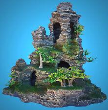 Aquarium Deko ♦ Grotten-Fels ♦ Laich-Höhle Versteck Terrarium Dekoration Zubehör