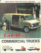 1977 GMC Commercial Trucks Showroom Brochure - West Nanticoke, PA