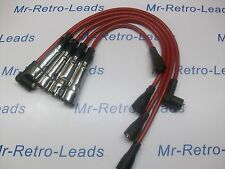 RED 8MM PERFORMANCE IGNITION LEADS WILL FIT. VOLKSWAGEN‬ GOLF MK1 GTi VW QUALITY