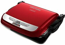 George Foreman GRP4842R 2 in 1 EVOLVE GRILL, Red Ceramic CONTACT GRILL