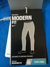 Nike  34/32 Men's MODERN FIT Washed Men's Golf Pants NEW 725672 435 Photo Blue